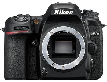 Nikon D7500 Body - Zwart