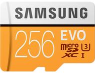 Samsung Evo 256GB micro SD class 10 - met adapter