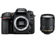 Nikon D7500 Body + 18-105mm - Zwart