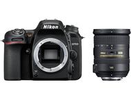 Nikon D7500 Body + 18-200mm - Zwart