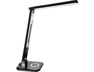 Hama Led-bureaulamp SL 65, QI-lader/multicolor/timer, zwart