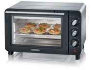 Severin TO2064 Backing- and Toast oven black-silver