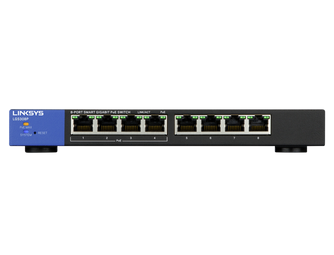 Linksys LGS308P-EU Smart Gigabit Switch PoE+ 8-port (72W)