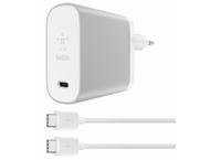 Belkin USB-C AC CHG  5/9/12/15V PD 45W W/6 USB-C CBL SLV