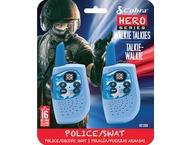 Cobra HM230B, walkie talkie, Hero Police/Swat, 2-pack, blauw