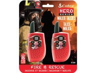 Cobra HM230R walkie talkie, Hero Fire  rescue, 2-pack, rood