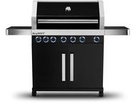 Berghoff Studio Line Largo BBQ zwart 6 brander+zijbrander
