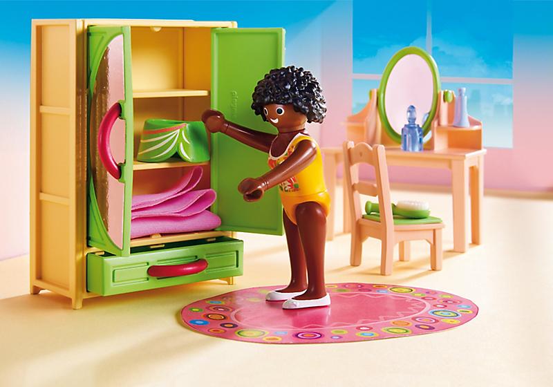Playmobil Dollhouse Slaapkamer : Playmobil dollhouse slaapkamer met kaptafel art craft