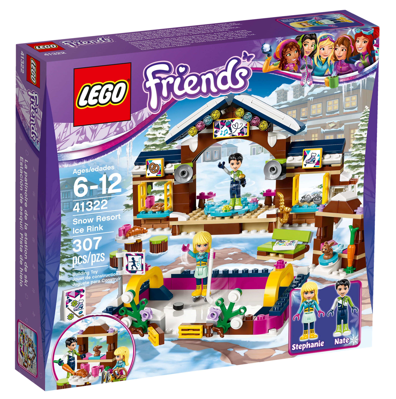 Lego La Patinoire De Station Friends Ski AjRL54