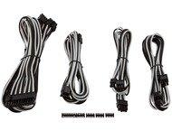 Corsair Indiv sleev DC Cable Kit WHITE/BLK