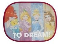 Princess (disney) Side Sun Shade Prinzess, Turquoise/Red/Yel