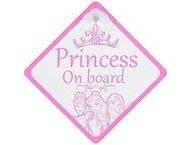 Princess (disney) Sign Baby on Board, Princess