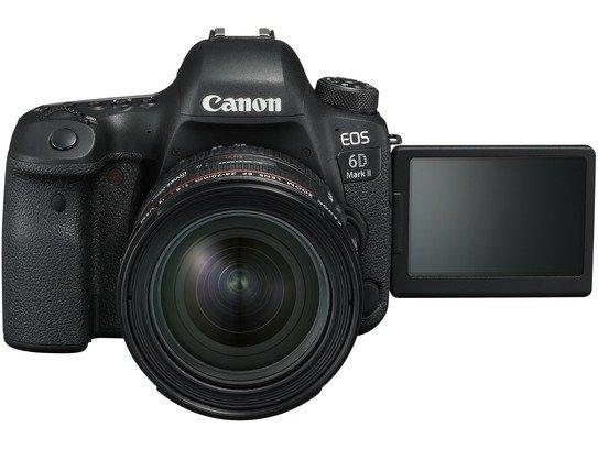 EOS 6D Mark II LCD Open EF24-70mm F4L USM FRA