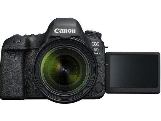 EOS 6D Mark II LCD Open EF24-70mm F4L USM FRT