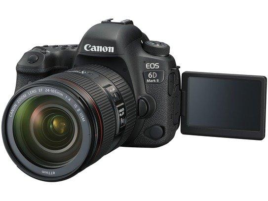 EOS 6D Mark II LCD Open EF24-105mm F4L II USM FSL