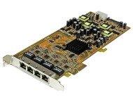 Startech 4 Port Gigabit PoE PCIe Network Card