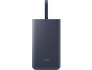 Samsung power bank 5.200 mAh - snel laden - blauw - USB-C