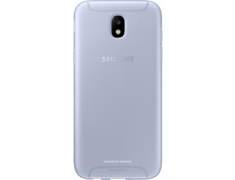 Samsung jelly cover - blauw - Galaxy J5 2017
