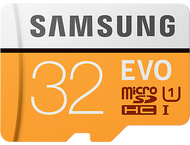 Samsung Evo 32 GB micro SD class 10 - met adapter R95MBs/W20