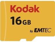 Kodak microSDHC 16GB Class10 U1 w/adapter