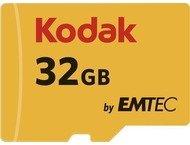 Kodak microSDHC 32GB Class10 U3 w/adapter