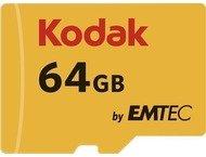 Kodak microSDXC 64GB Class10 U1 w/adapter