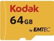 Kodak microSDXC 64GB Class10 U3 w/adapter