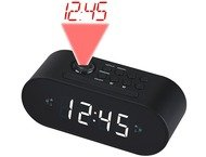 Denver Projection Clockradio CRP-717 Black