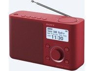 Sony Digital Radio XDRS61DR Red