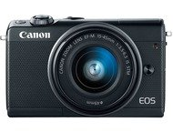 Canon EOS M100 Body + 15-45mm - Zwart