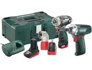 Metabo ComboPack Combo Set 2.1 10.8v Quick Pro