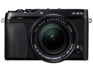 Fujifilm X-E3 Body + 18-55mm - Zwart