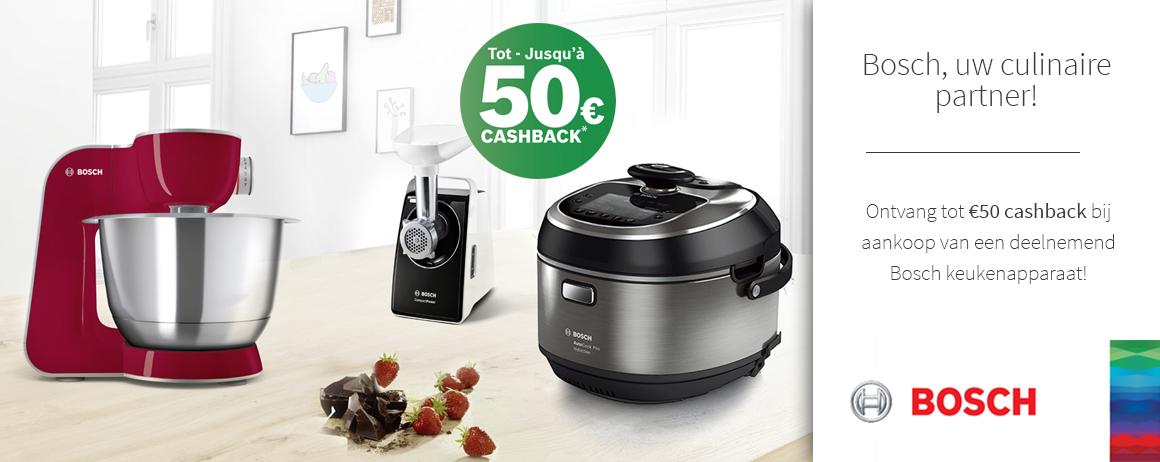 Bosch - Food Prep CashBack