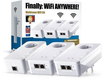 Devolo 8063 dLAN Multiroom Wifi Kit 1200+ (BE)
