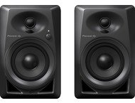 Pioneer DJ 4 Monitor Speakers Pair DM-40