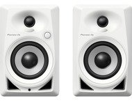 Pioneer DJ 4 White Monitor Speakers Pair DM-40-W