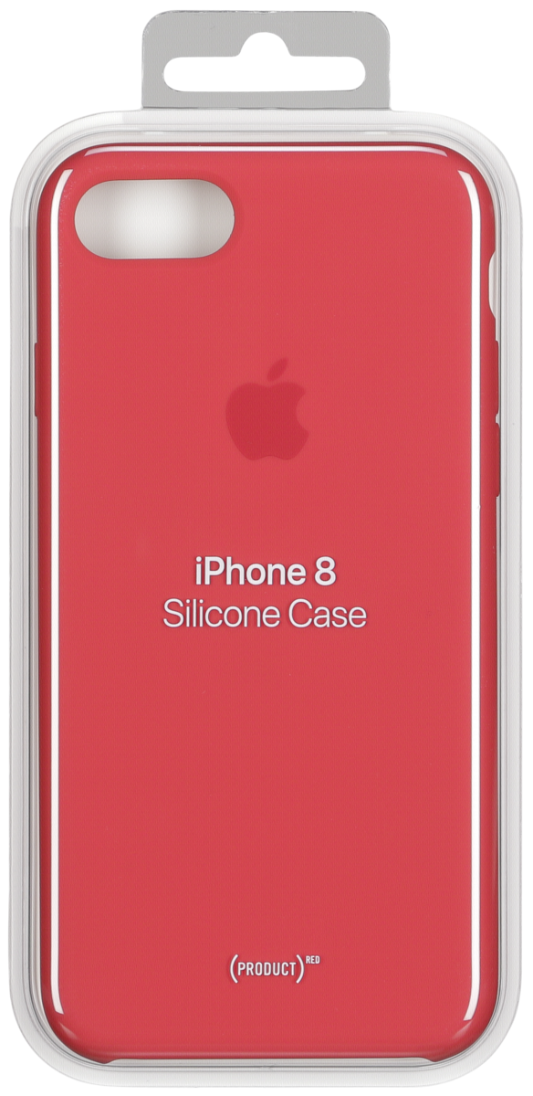 d90788c5949 Apple iPhone 8/7 Silicone Case - Red