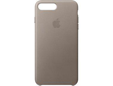 377d57f5c42 Apple iPhone 8 Plus 7 Plus Leather Case Taupe