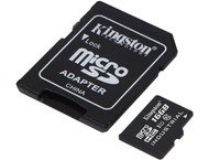 Kingston 16GB microSDHC UHS-I C10 Industrial+Adapter