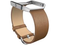 Fitbit Blaze Leren Polsband - Bruin (S)