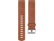 Fitbit Charge 2 Leren Polsband - Bruin (L)