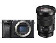 Sony A6300 Body + 18-105mm - Zwart