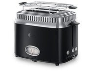 Russell Hobbs Toaster Retro Classic Black 2168156
