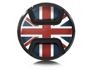 Kaiser Lens cap snap-on style union jack 72mm
