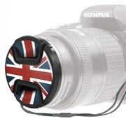 Kaiser Lens cap snap-on style union jack 72mm