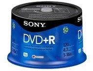 Sony DVD+R 16X Spindle-Bulk 50pcs