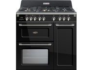 Boretti CFBG903ANBE fornuis 90cm 3 ovens antraciet gas (BE)