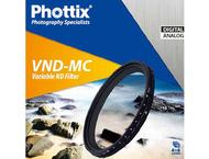 Phottix Variable ND Multi-Coated Filter  55mm