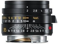 Leica M Summicron 35mm f/2.0 - Noir