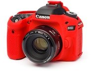 easyCover Body Cover for Canon 80D Red